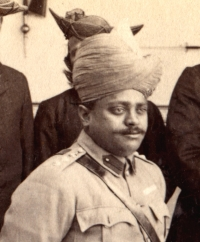 HH Maharaja Scindia MADHAVRAO II SCINDIA in about 1903