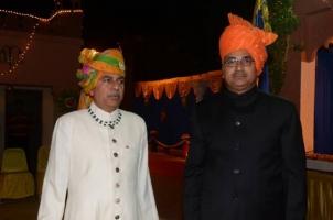 Col Thakur Rajendera Singhji and Col Thakur Devi Singhji of Hardesar