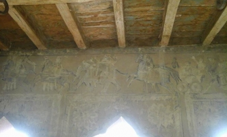 Rare 16th century AD wall paintings - Rangiliya Maliya