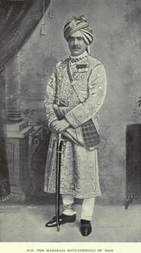 Col. H.H. Maharaja Daulat Singh Ji