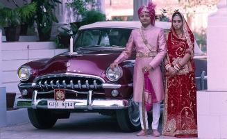 Karni Singh Idar and Geetanjali Idar at Daulat Vilas Palace
