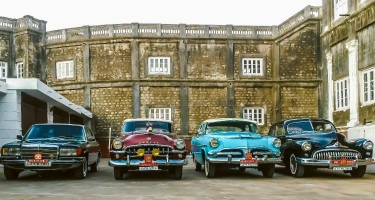 Motor Cars Of Maharaj Narendra Singhji Umeg Singhji