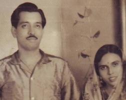 Maharaj Narpat Singhji Idar and Rani Jogmaya Devi of Dhenkanal
