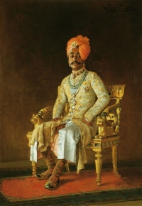 Maharaja Sri Sir Pratap Singh Ji of Idar and Regent of Jodhpur, ca.1888