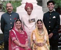 Present Maharaj Shri Bhagirath Singhji Saheb Idar, Late Maharaj Shri Umeg Singhji Saheb Idar, R.K. Suryavir Singhji Saheb Idar, Rani Saheba Rita Rajya Laxmi Idar, Baisa Saheba Maheshwari Rajya Devi Idar