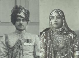 Maharaj Man Singhji Idar and Rani Anoop Kanwar