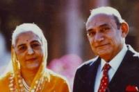 Maharaj Shri Amar Singhji and Rani Surendra Kanwar of Idar