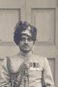Maharaj Man Singhji Idar.