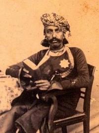 Maharajadhiraja Maharaja Shri Sir JAWANSINHJI GAMBHIRSINHJI Sahib Bahadur