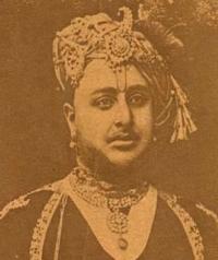 HH Maharajadhiraja Maharaja Shri Sir KESRISINHJI JAWANSINHJI Sahib Bahadur