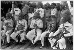 Guests at the wedding of Maharajkumari Prem Kumari of Jaipur in 1948