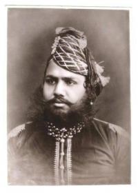 HH Saramand-i-Rajha-i-Hindustan Raj Rajindra Sri Maharajadhiraj Sawai Sir MADHO SINGH II Bahadur