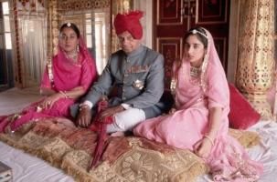 Maharaja Sawai Brig. Bhawani Singhji and family