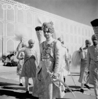 Maharaja Sir Man Singh during the Silver Jubilee of his twenty-five year reign