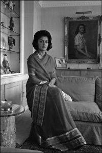 Maharani Gayatri Devi of Jaipur in London in 1965