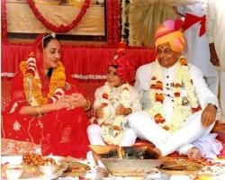 PADMANABH SINGHJI Bahadur adoption ceremony.