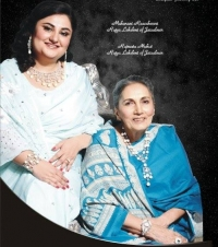 HH Maharani with Rajmata of Jaisalmer