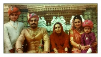 Maharawal Brijraj Singh ji with family