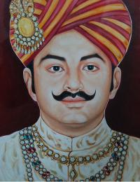 HH Maharawal Brij Raj Singh Ji Jaisalmer