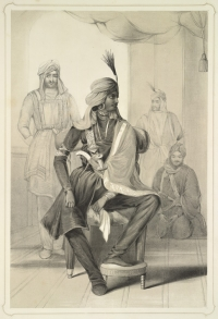 Portrait of Raja Hira Singh