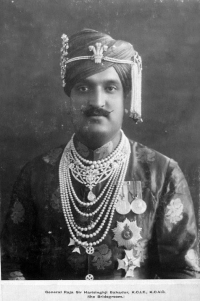 Maharaja Hari Singh as a bridegroom