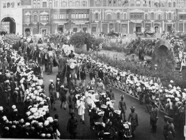 Wedding procession of Maharaja Hari Singh in Jammu (Jammu And Kashmir)