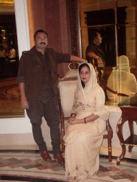 Raja Shalivahan Singhji with Rani Riteshwari Devi