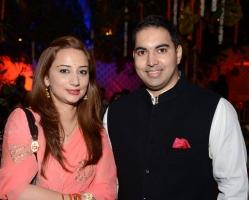 Yuvraj Aanjaneya Pratap Singh Deo with Shivani Singh Deo