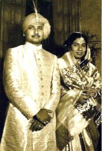 Raja Birendra Bijoy Malla Deb and Rani Indira Devi