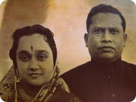Raja Narasingha Malla Deb and Rani Rupa Manjuri Devi
