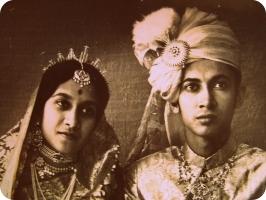Rajkumari Jayeshree Devi and Kumar Shailaja Shanker Singh Deo
