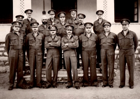 Maj. Th. Jai Singh Ji Jobner (2nd Row - 2nd from right)
