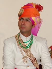 Bh. Aditya Singh Manohar, elder son of Kr. Yudhveer Singh Ji