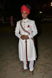 Bh. Vasudev Singhji Jobner, grandson of Rawal Ajit singh and son of Kr.Sangram Singh Ji