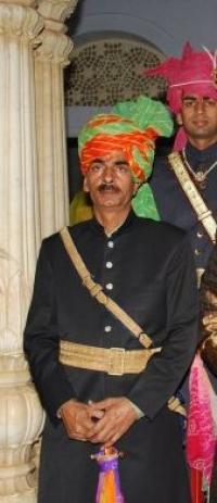 Kr. Youdhveer Singh Ji Jobner, younger son of Rawal Ajit Singh Ji