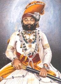 H.H. Raj Rajeshwar Saramad-i-Rajha-i-Hindustan Maharajadhiraja Maharaja Shri Takht Singhji Sahib Bahadur
