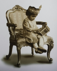 Maharaja Hanwant Singh as a child