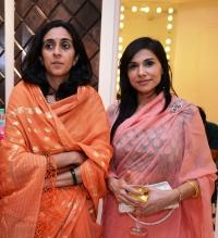 Kanwarani Priyanjali Katoch Lambargaon Kangra and Kanwarani Ritu Sinhji of Wankaner