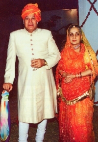 Raja Shri ADITYA DEV CHAND and Rani Shrimati Chandresh Kumari