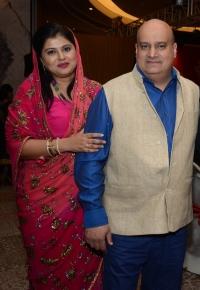 Tikka Aishwariya Chand Katoch with Tikkarani Shailaja Kumari