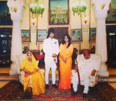 Thakurani Sandhya Chundawat, Kunwar Pratap Singh, Kumari Padmini and Thakur Man Singh Ji