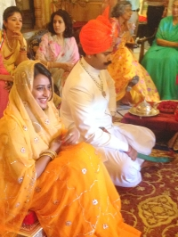 Engagement Ceremony of Karni Sodha of Amarkot and Padmini Singh of Kanota on 10th June 2014 (Kanota)