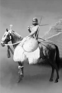 H.H. Maharaja Bhom Pal ji Deo Bahadur Yadukul Chandra Bhal of Karauli