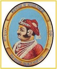 H.H. Maharaja Gopal Singh ji Deo Bahadur Yadukul Chandra Bhal of Karauli
