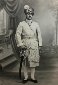 H.H.Maharajah Ganesh Pal Deo Bahadur of Karauli