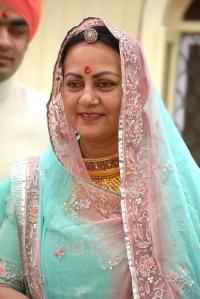H.H.Maharani Rohini Kumari of Karauli
