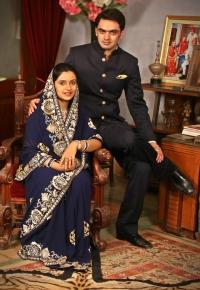 Yuvraj Vivasvat Pal and Yuvrani Anshika Kumari of Karauli