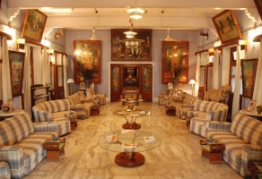 Royal Room at Bhanwar Vilas Palace
