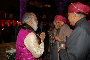 The last social function of late Maharaj sahib Karan Singhji at the Raaj Mahal Udaipur