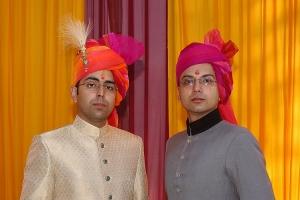 Kunwar Dinkrit Pratap Singh and Kunwar Dinkar Pratap Singh